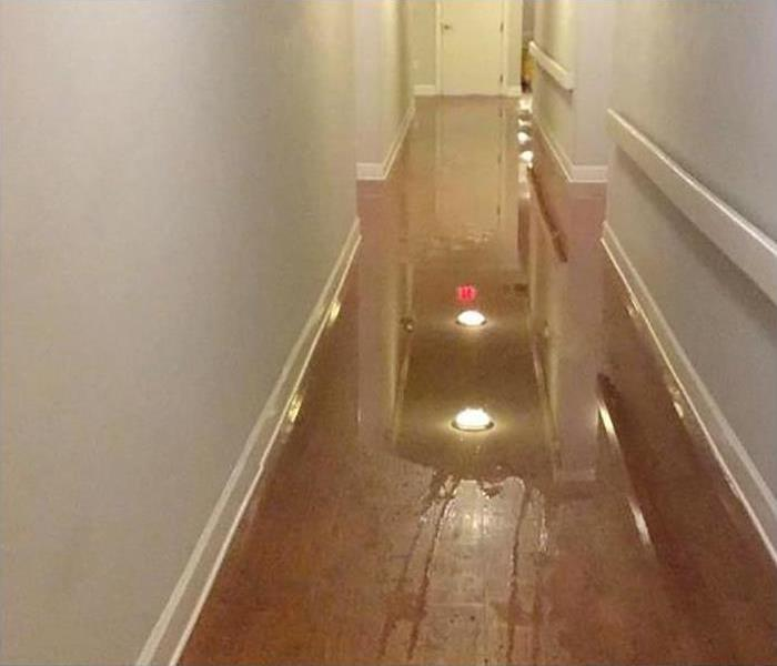Commercial Water Damage Restoration In Tallahassee Before