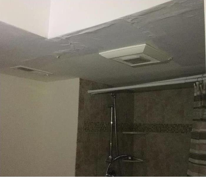 Storm Damaged Bathroom--Tallahassee Before