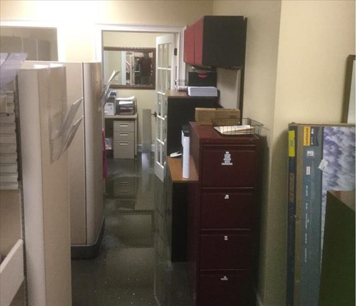 Flooding in a Doctor's Business Suite--Tallahassee Before