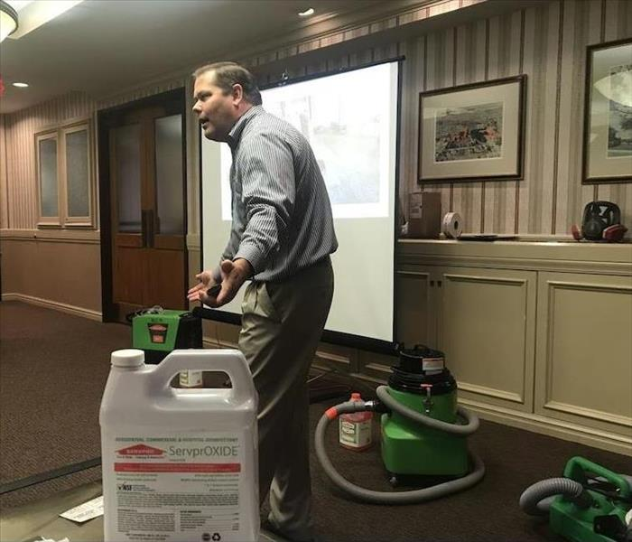 SERVPRO of North Leon Hosts a Continuing Education Class
