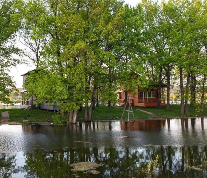 Storm Damage Flooding from Lake Lamonia Can Cause Extensive Damage