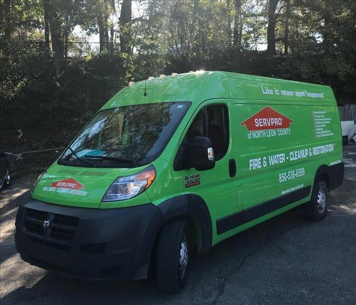 Storm Damage Tallahassee Properties Benefit from SERVPRO'S Rapid Floodwater Removal